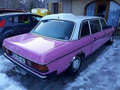 Mercedes Benz 300 (benoits15) Tags: mercedesbenz 300 pink rose