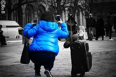 The photographers : Double shot (@Bo.B7295150) Tags: photographe photographers streetview street humain double shot touriste bnw