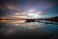 Rangsdorfer See Sunset (Sascha Gebhardt Photography) Tags: nikon nikkor d850 1424mm lightroom langzeitbelichtung landscape landschaft brandenburg photoshop germany deutschland travel tour reise roadtrip reisen fototour fx