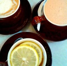 Coffee, Tea, Honey Lemon (nikolissima) Tags: beverage drink