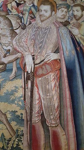 detail of Journey - Valois Tapestries
