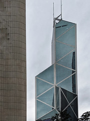 Bank of China Tower Knife Building by I M Pei Hong Kong (Barbara Brundage) Tags: bank china tower knife building by i m pei hong kong