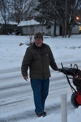 snowblowing (Marcy Talks with Hands) Tags: mike winter snow wisconsin 2019 grateful
