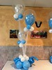 Christening balloons (PartiLife) Tags: centerpieces blue white babyblue lightblue christening communion basicballoons balloonbase