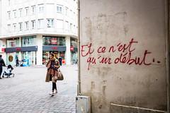Nantes - Janvier 2019 (Maestr!0_0!) Tags: couleur color street rue people candid nantes hema début beginning