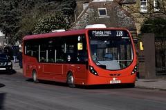 Tower Transit Wright StreetLite DF (WV46222 - SM68 ESG) 228 (London Bus Breh) Tags: transitsystems towertransit thewrightgroup wrightgroup wrightbus wright wrightstreetlite wrightstreetlitedf streetlite streetlitedf wv wv46222 sm68esg 68reg londonbuses london buses bus londonbusesroute228 route228 harlesden actonlane willesdenjunction stationroad tfl transportforlondon