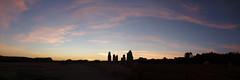 Le soleil vient de se coucher sur l'alignement du Moulin de Saint-Just - Ille-et-Vilaine - Septembre 2018 (Erwan Corre) Tags: mégalithe menhir menhirs illeetvilaine bretagne france landesdecojoux alignementdumoulin mégalithes cojoux saintjust