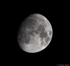 Moon 19.11.2018 (Ville_Wiik) Tags: suomi finland kuu