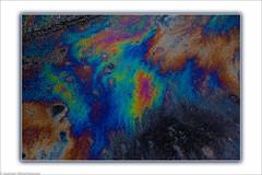 HSS - Streetart - Ölspur / Oil on the street (J.Weyerhäuser) Tags: strassen slidertothemax kunst abstract hss ölspur photoshop color oil
