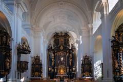 St. Paul, Passau (Blick zum Hochaltar) (Jutta Achrainer) Tags: achrainerjutta fe24105mmf4goss passau sonyalpha7riii stpaul kirche altar