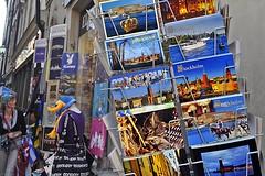 Postcards of Stockholm (AntyDiluvian) Tags: sweden stockholm 2013 june2013 street postcards rack tourist touristshop