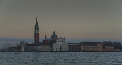 Church of San Giorgio Maggiore (y.mihov, Big Thanks for more than a million views) Tags: church san giorgio maggiore venice venezia building buildings italy islands isle europe evening wealth winter water wide window white trespass travel tourist town sonyalpha sightseeing sigma skyes sea stone mediterraneansea architecture art