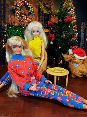 Christmas time (alenamorimo) Tags: barbie barbiedoll holidays dolls christmas barbiecollector superstar kendoll