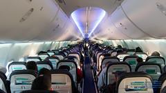 Looking Down An Alaska Airlines 737-900ER Cabin (AvgeekJoe) Tags: 737990 737990erwl alaskaair alaskaairlines boeing737 boeing737900 boeing737990 boeing737990erwl d5300 dslr jetliners n275ak nikon nikond5300 aircraft airplane airplanecabin aviation cabin jetliner plane