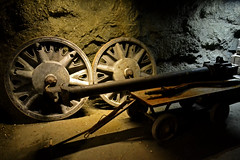Germany´s leftovers in Poland (t.horak) Tags: wheels gun round brown wwii german poland arms underground fight