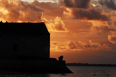 Mozambique, Ilha de Mozambique, view of medieval ancient fortress against the orange cloudy sky at sunset (anthonyasael) Tags: africa african afrika ancient black building calm calmness canal castle child children childrenonly citadel cloud colonial colors defensivewall dusk evenfall fort fortification fortress historic historical history ilhademozambique kid kids mocambique monument mozambique nature noone nopeople nobody north old orange people red scene scenery scenic silhouette sky southernafrica sunrise sunset traveldestination twilight water mozambiquemocambique