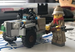 WIP (read desc) (WiΙl) Tags: lego ww1 vehicle build moc figure brickarms citizenbrick hypedance