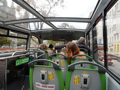 Atop a Double Decker (mikecogh) Tags: vienna bus tourism doubledecker top
