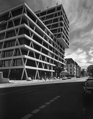 Berlin, Germany. (wojszyca) Tags: intrepid camera 4x5 largeformat fujinon sw 90mm bergger pancro 400 hc110 b 9min epson v800 city urban architecture berlin