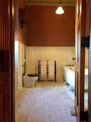 Guest Bathroom, Biltmore House, Biltmore Estate, Asheville, NC (w_lemay) Tags: interior biltmore mansion museum northcarolina westernnorthcarolina appalachia chateauesque victorian historic