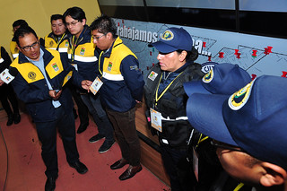 SMSC PRESENTA  UNIFORMES Y CREDENCIALES PARA FUNCIONARIOS DE LA INTENDENCIA Y GUARDIAS MUNICIPALES (5)