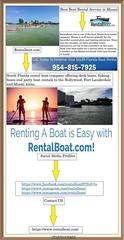 Boat Rental Miami Florida (rentalboat58) Tags: miami boat rental