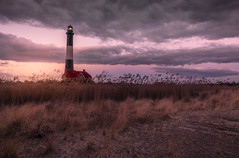Robert Moses State Park, NY (willsdad48) Tags: lighthouse new york longisland atlantic ocean sunset beach winter seascapes 35mm nikon nikond850 landscape landscapephotography nature hiking