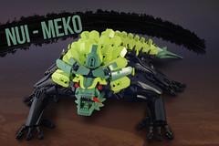 Nui - Meko (Gamma-Raay) Tags: lego legomoc bionicle lizzard green black creature monster rahi alien