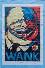 Boris (Gary Kinsman) Tags: redcrossway se1 london boroughmarket borough londonbridge fujix100t fujifilmx100t poster wank boris borisjohnson 2018 politics caricature martinrowson me