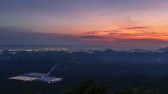 TV hill, Tawau. (Andy @ Pang Ket Vui ( shootx2 )) Tags: tawau night scene city landscape dusk sunset fujifilm x100f long exposure sabah malaysia tourist