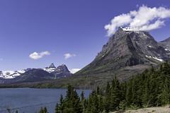 St. Mary Lake, Glacier N. P. (punahou77) Tags: glaciernationalpark wilderness mountain mountains montana trees landscape nature nikond500 nationalpark nikon clouds punahou77 pines park stevejordan