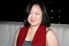 IMG_7878 (grail76) Tags: asian woman scarf tanktop smile