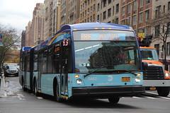 IMG_2681 (GojiMet86) Tags: mta nyc new york city bus buses 2017 lf60102 lfs lfsa 5443 m86 sbs select service 86th street amsterdam avenue
