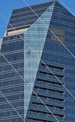 Angles (carlos_ar2000) Tags: edificio building arquitectura architecture linea line diagonal diagonally abstracto abstract geometrico geometric vidrio glass buenosaires argentina