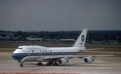 Varig 747 'PP-VOA' (Longreach - Jonathan McDonnell) Tags: london egll londonheathrow 1990s 1990 scan scanfromaslide 465004 londonheathrowairport varig boeing 747 747300 747341 23091990