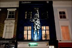 Dotmeister - DSCF7818a (normko) Tags: london west portobello road street art dotmeister wall mural graffik gallery night available light