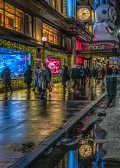 Macy's Holiday Windows (Jeffrey Friedkin) Tags: jeffreyfriedkinphotography cityscene christmas holiday reflection windows manhattan macys newyork nyc newyorkscene night