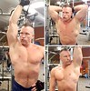 triceps extensions (ddman_70) Tags: shirtless pecs abs muscle gym workout triceps
