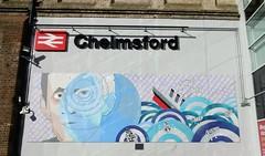 Marconi Mural (The original SimonB) Tags: chelmsford essex november 2018 marconi titanic radio memorial