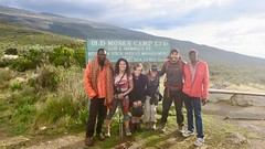 """Day 1 at Mount Kenya National Park: after a 3 hours afternoon hike we made it to the Old Moses camp at 3300m above sea level.  Kenya  Nov 2018 #itravelanddance • <a style=""""font-size:0.8em;"""" href=""""http://www.flickr.com/photos/147943715@N05/45114843294/"""" target=""""_blank"""">View on Flickr</a>"""