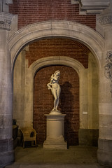 """Eve is running short of admirers, Couvent des Augustins, Toulouse, Haute-Garonne, Occitanie, France (grumpybaldprof) Tags: canon 80d """"canon80d"""" tamron 16300 16300mm """"tamron16300mmf3563diiivcpzdb016"""" """"fineart"""" ethereal striking artistic interpretation impressionist stylistic style contrast shadow bright dark black white illuminated colour """"muséedesaugustinsdetoulouse"""" """"couventdesaugustins"""" """"muséedesaugustins"""" """"middleages"""" occitan romanesque sculptures statues art gothic 1309 """"augustinianconvent"""" secularised 1793 """"frenchrevolution"""" museum 1795 """"monumenthistorique"""" cloister garden church gargoyles status statue sculpture eve snake chair seat abandonned toulouse hautegaronne occitanie france """"4thlargestfrenchcity"""" tolosa airbus thales astrium """"southernfrance"""" """"lagaronne"""" """"garonneriver"""""""