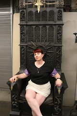 """Tracey sitting in a chair from Snow White and the Huntsman • <a style=""""font-size:0.8em;"""" href=""""http://www.flickr.com/photos/28558260@N04/45454872064/"""" target=""""_blank"""">View on Flickr</a>"""