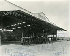 air mail collection image (San Diego Air & Space Museum Archives) Tags: airmaildh4 usairmail airmail aviation aircraft airplane biplane dehavilland dehavillanddh4 dh4 libertyengine libertyl12 liberty12 hangar