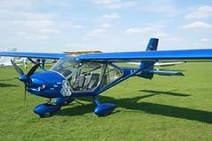 G-CGWP (IndiaEcho) Tags: gcgwp aeroprakt foxbat egbk orm northampton sywell airport airfield light general civil aircraft aeroplane aviation northamptonshire england laa fly in 2018 18