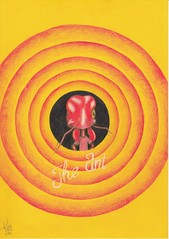 The Ant. (Klaas van den Burg) Tags: ant looneytunes humor coloredpencils