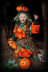 Petrifying Pumpkin Patch! (Jason 87030) Tags: pumpkin patch garden vegetable ghost ghoull trick treat halloween fun dress costume bucket green orange hat jasmine funny smashing pumpkins crop
