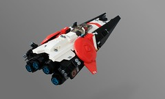 Vanguard Planetary Defender (Oscar Cederwall (o0ger)) Tags: lego moc space fighter starfighter beyondsol bortomsol spacejam2018