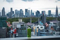 Shibuya - Tokyo, Japan (inefekt69) Tags: shibuya tokyo japan street nikon d5500 渋谷区 東京 日本 skyline shinjuku shibuyaexcelhoteltokyu view itoen oiocha green tea drink bokeh morning