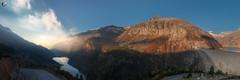 Sonnenaufgang an der Kölnbreinsperre (dieLeuchtturms) Tags: hohetauern österreich europa see 3x1 staumauer sonnenaufgang kölnbreinsperre panorama herbst bergsee alpen alps austria carinthia europe hightauern kärnten autumn fall lake sunrise malta at