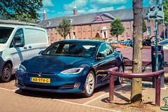 Tesla Model S (Alberto Grau) Tags: tesla model s car electric amsterdam holland